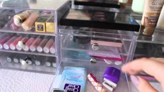 Vanity Organization and Makeup Collection!