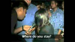 Guwahati Girl Molested By Mob In Public