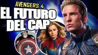 "AVENGERS 4: ""El fin del CAPTAIN AMERICA"" ¿Qué pasará? CAPTAIN MARVEL Líder de Vengadores | Exp."