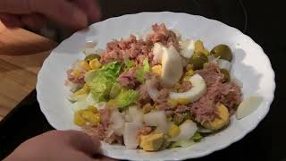 Ensalada Mediterránea - Mediterranean salad | Cocina con Rock