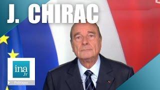 Jacques Chirac : Le dernier discours à l'Elysée | Archive INA