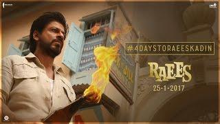 Download 4 Days To Go | Raees Ka Din | Shah Rukh Khan, Nawazuddin Siddiqui | Releasing Jan 25 3Gp Mp4