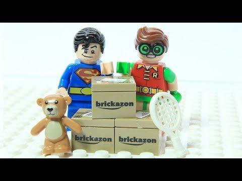 Xxx Mp4 Lego Superman And Robin Brick Box Shuffle Game Play Superhero Fun Animation Cartoon 3gp Sex