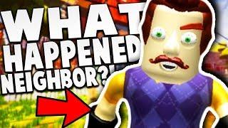 WHAT HAPPENED TO THE NEIGHBOR!?   Hello Neighbor Roblox Game (Hello Neighbor Beta 3 in Roblox)
