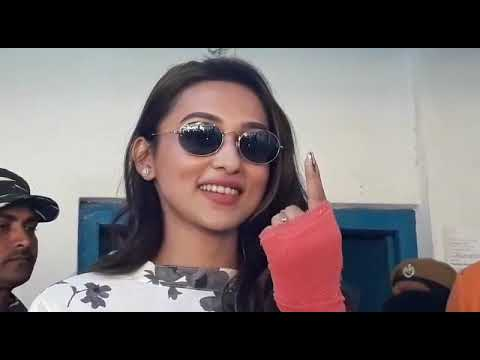 Xxx Mp4 Actress Mimi Chakraborty Casts Her Vote In Jalpaiguri 3gp Sex