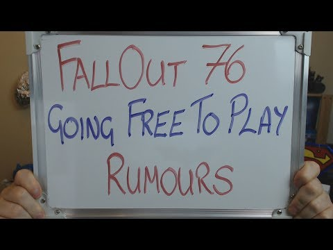 Xxx Mp4 The FALLOUT 76 Going FREE TO PLAY Rumours 3gp Sex