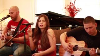 Matisyahu - One Day - live acoustic cover by Jennifer Sun Bell ft. Christian Rivera & Alex Rivera