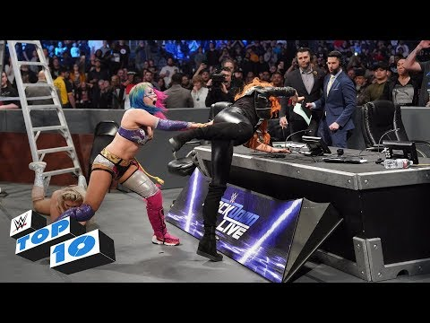 Xxx Mp4 Top 10 SmackDown LIVE Moments WWE Top 10 December 11 2018 3gp Sex