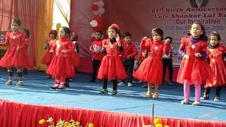 School program by kids on re  mama re  mama re song