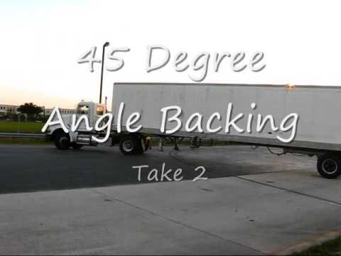 Backing trucks Miami Lakes Educational Center