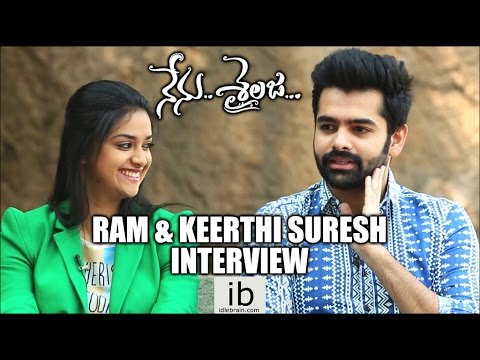 Xxx Mp4 Ram Keerthi Suresh Interview About Nenu Sailaja Idlebrain Com 3gp Sex