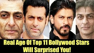 SHOCKING! Real Age Of Top 11 Bollywood Actor - Will Surprised You