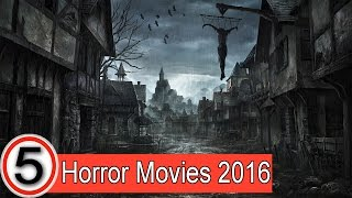 TOP 5 horror movies 2016