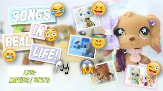 LPS: Songs in Real Life! - Funny High School Skit