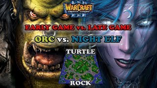 Grubby   Warcraft 3 The Frozen Throne   Orc v NE -Early Game vs. Late Game - Turtle Rock