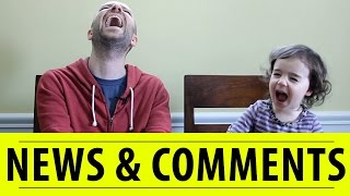 Big News & Your Comments | FREE DAD VIDEOS