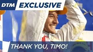 Thank you, Timo - DTM 2016