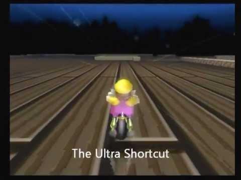 Mario kart wii moon jump hack code
