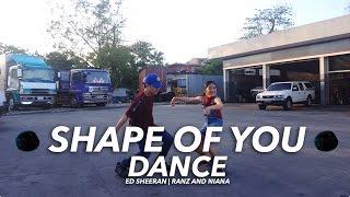 Ed Sheeran - Shape Of You Siblings Dance | Ranz and Niana