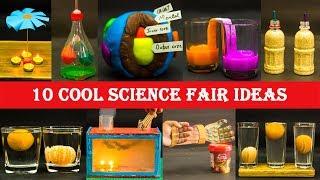 10 Cool Science Fair Ideas