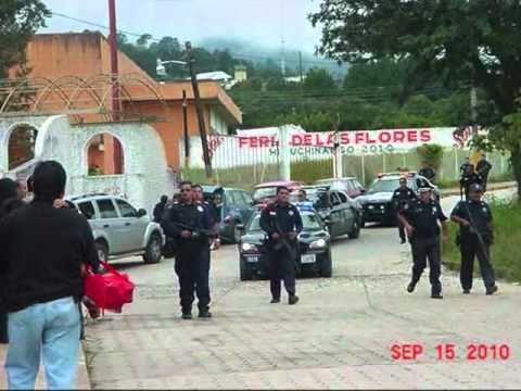 Asesinato de un policía en Huauchinango
