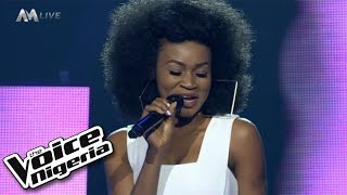 "J'Dess - ""Is it because I love you"" / Live Show / The Voice Nigeria Season 2"