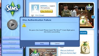 How to Fix No Disc Found on Sims 3