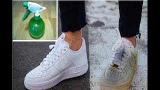 سيستعيد حذاء الرياضة لونه الناصع مع هذه الحيلة البسيطة  إنها تنجح فعلاً !