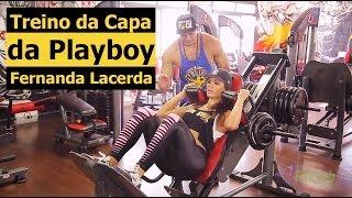 Treino da Capa da Playboy Fernanda Lacerda