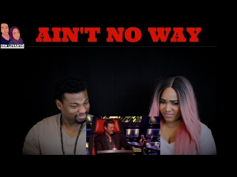 Sisaundra Lewis -Ain't No Way ( Blind Audition) REACTION