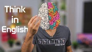كيف تفكر باللغه الانجليزيه ؟