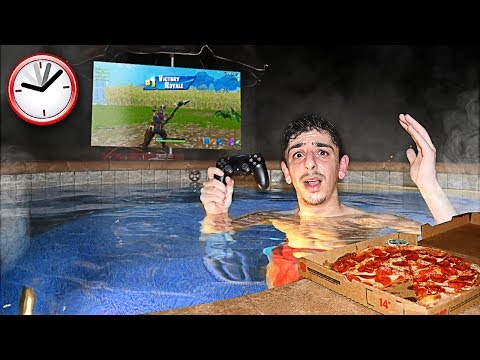 Xxx Mp4 I Spent 24 Hours OVERNIGHT In My Hot Tub It Was A BAD IDEA 3gp Sex