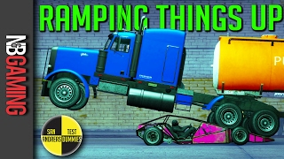 GTA5 - Ramping Things Up - San Andreas Test Dummies Ep. 77 - GTA5 Funny Moments