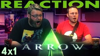 Arrow Season 4 Premiere Reaction!!