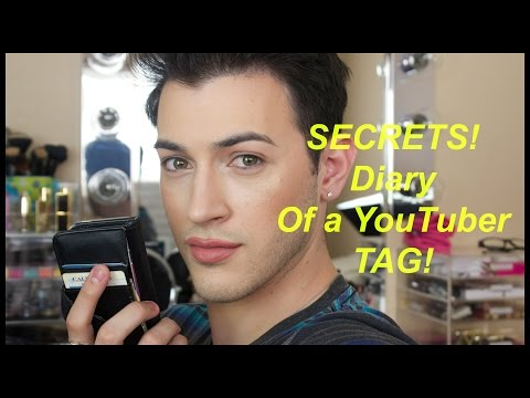Secret Diary of a YouTuber Tag! - YouTube crush, secrets and behind the scenes.