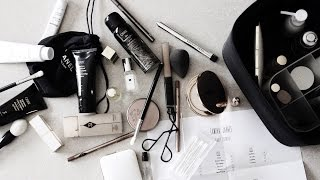 Travel Beauty Bag and Checklist