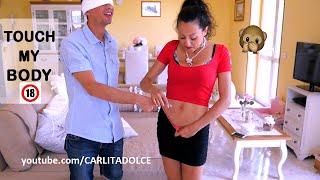 TOCCA IL MIO CORPO Challenge!!! ..PARTI INTIME 🔞 - Touch My body | Carlitadolce