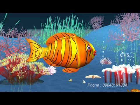Xxx Mp4 Machli Jal Ki Rani Hai Fish 3D Animation Hindi Nursery Rhymes For Children Hindi Poem 3gp Sex