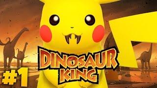 DINOSAUR MEETS POKEMON | Dinosaur King (Part 1)