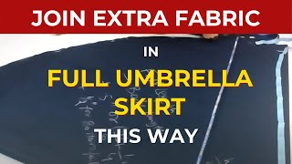 Make Umbrella Skirt : Umbrella Skirt cutting pattern video Circular Maxi skirt anarkali Dress Frock2