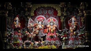 Sringar Arati Darshan Sri Sri Radha Rasbihari Temple 19th Nov 2018 Live from ISKCON Juhu, Mumbai