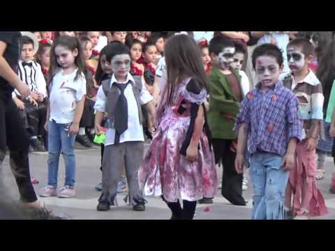 Thriller Pre kinder C Amanda Labarca 2015