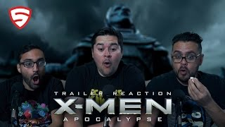 X-Men: Apocalypse Official Trailer Reaction and Review!