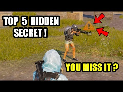Pubg Mobile TOP 5 Secret Tips and Trick The Game Doesn't Tell You !