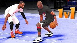 The KING vs The GOAT / LeBron James vs Michael Jordan 1v1 - NBA 2K18