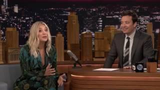 Kaley Cuoco Sings The Big Bang Theory Theme Song