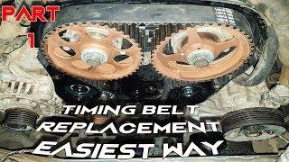 تتغيير سير كاتينه موتور 2 كامه (جزء 1) Timing Belt Replacement for DOHC Engines