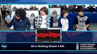 AON Smash 4 #44 XG l Moncho & Soan Vs PK Chris & Wheezer Winners Round 2