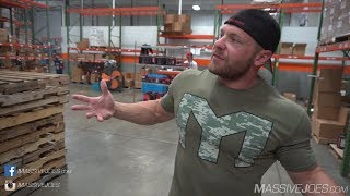 TMJ In The USA! Season 5 Episode 10: MTS Nutrition HQ | MassiveJoes.com Mr Olympia Tour 2017