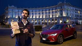 Mazda CX-3 | La prova a Roma (tutta in una notte) in 4K!